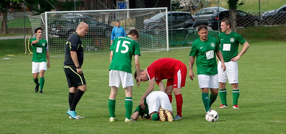 Niederlage im Derby gegen Wilfersdorf